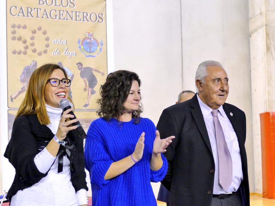 CAMPEONATO BOLOS CARTAGENEROS CRISTINA BALSEIRO ANA BELEN CASTEJON FERREMART