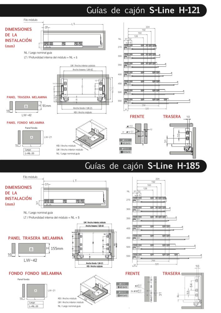 cajón s-line inter ferretería cartagena ferremart