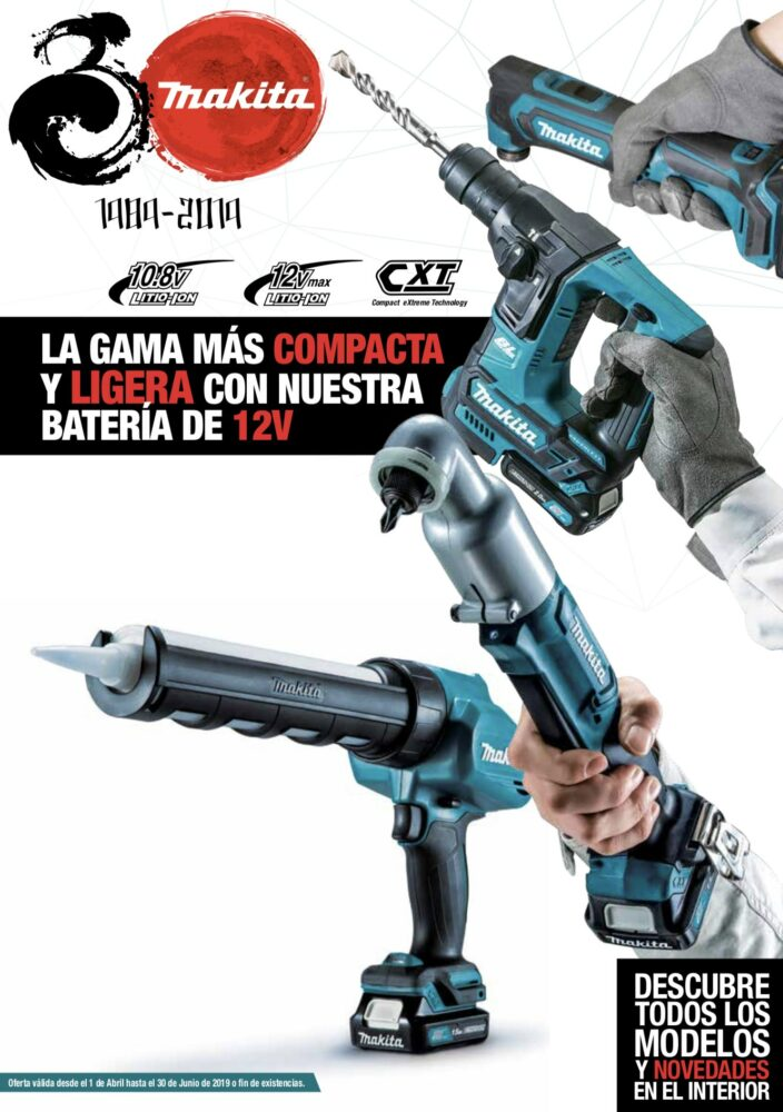 folleto makita 12v ferremart