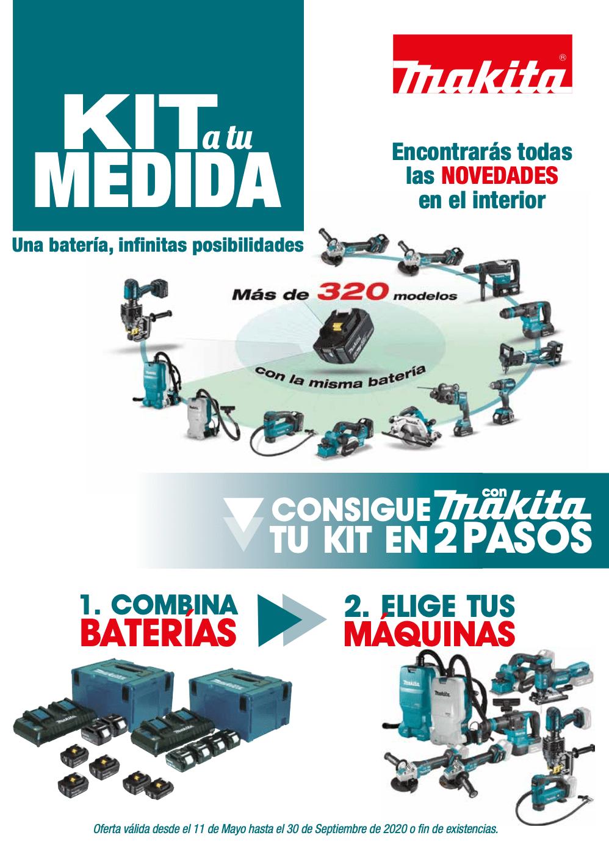 Kit a medida MAKITA en FERREMART ferretería en Cartagena