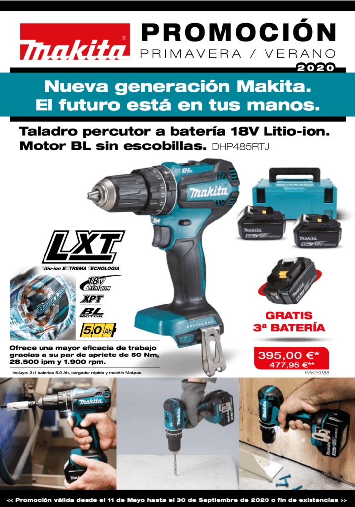 Catálogo de producto verano MAKITA Ferretería FERREMART Cartagena
