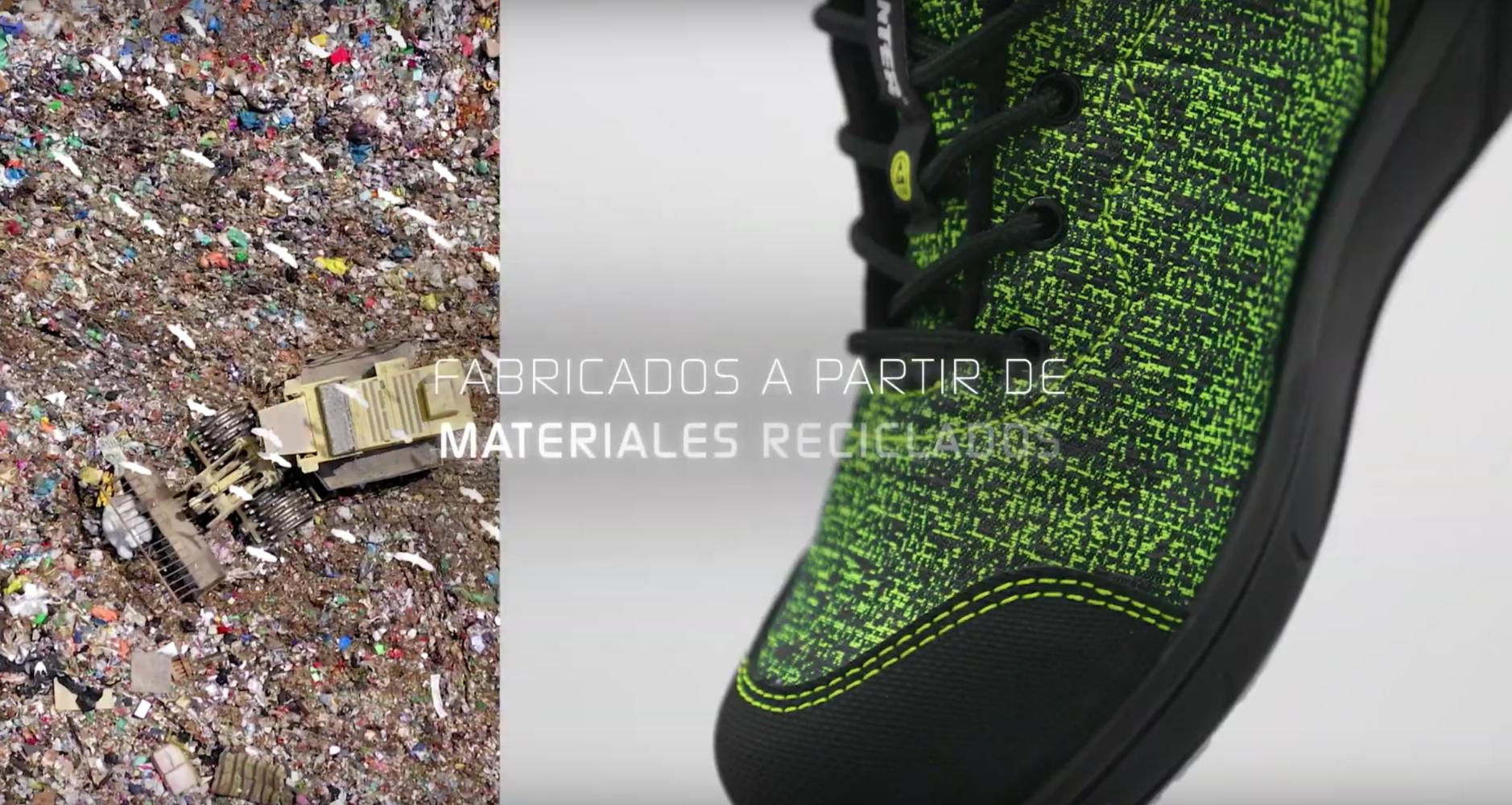 Los nuevos VITA Eco de Panter, el zapato de seguridad que cuida el planeta.